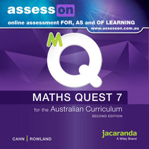 Assesson Maths Quest 7 For The Australian Curriculum 2E (Online Purchase)
