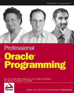 Professional Oracle® Programming (0764574825) cover image