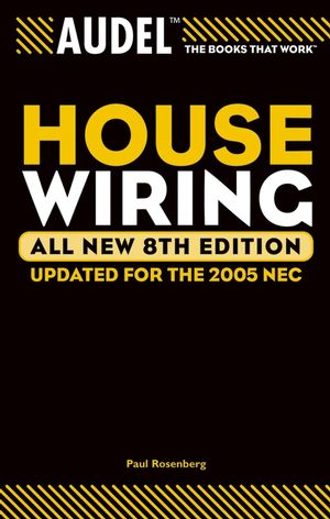 Audel House Wiring, All New 8th Edition (0764576925) cover image