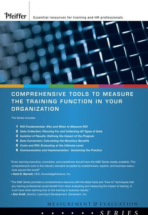 Measurement and Evaluation: Complete Set  (0787996025) cover image