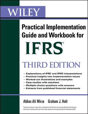 Wiley IFRS: Practical Implementation Guide and Workbook, 3rd Edition (1118017625) cover image