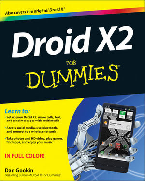 Droid X2 For Dummies (1118164725) cover image