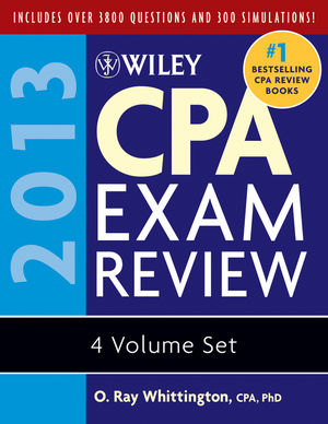 Wiley CPA Exam Review 2013, Set (1118299825) cover image