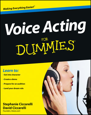 Voice Acting For Dummies (1118414225) cover image