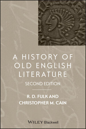 A History of Old English Literature, 2nd Edition (1118441125) cover image