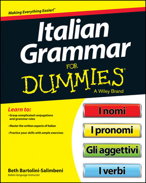 Italian Grammar For Dummies