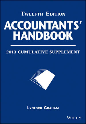 Accountants' Handbook, 2013 Cumulative Supplement, 12th Edition