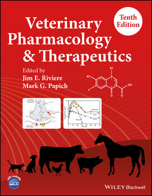 Veterinary Pharmacology and Therapeutics (1118855825) cover image