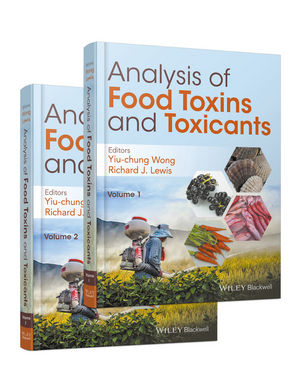 Analysis of Food Toxins and Toxicants, 2 Volume Set (1118992725) cover image
