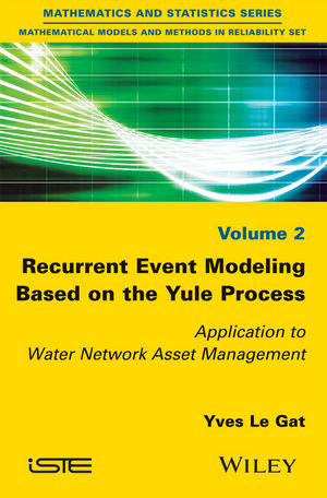 Recurrent Event Modeling Based on the Yule Process: Application to Water Network Asset Management (1119261325) cover image