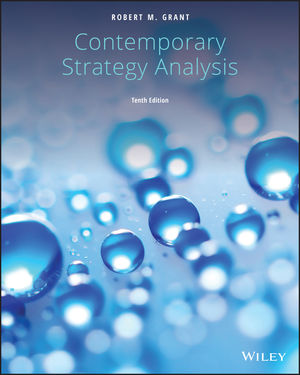 Contemporary Strategy Analysis, 10th Edition