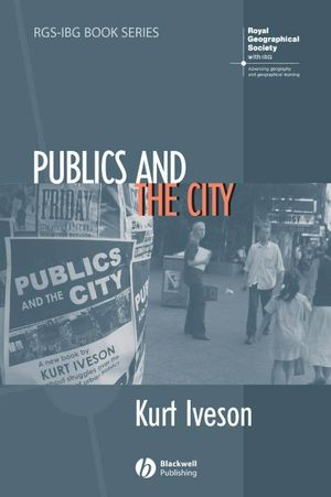 Publics and the City (1405127325) cover image
