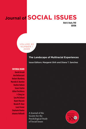 The Landscape of Multiracial Experiences (1405197625) cover image