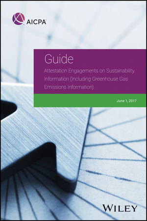 Attestation Engagements on Sustainability Information (Including Greenhouse Gas Emissions Information)