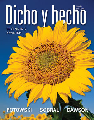 Dicho y hecho: Beginning Spanish, 9th Edition (EHEP001725) cover image