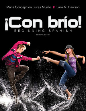¡Con brío! Beginning Spanish, 3rd Edition (EHEP002425) cover image
