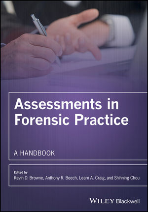 Assessments in Forensic Practice: A Handbook (0470019026) cover image