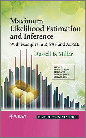 Maximum Likelihood Estimation and Inference: With Examples in R, SAS and ADMB (0470094826) cover image