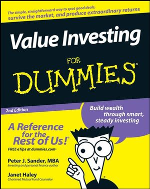 Value Investing For Dummies, 2nd Edition