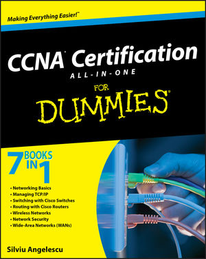 CCNA Certification All-In-One For Dummies (0470489626) cover image