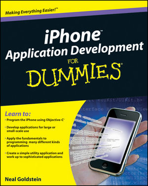 iPhone Application Development For Dummies (0470522526) cover image