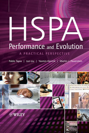 HSPA Performance and Evolution: A practical perspective (0470699426) cover image