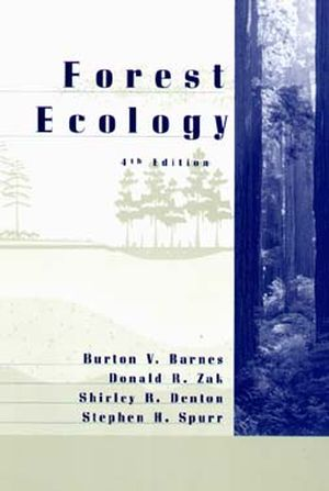 Forest Ecology, 4th Edition (0471308226) cover image
