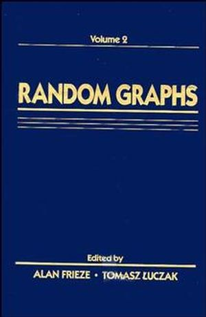 Random Graphs: Volume 2 (0471572926) cover image