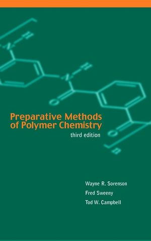 Preparative Methods of Polymer Chemistry, 3rd Edition (0471589926) cover image