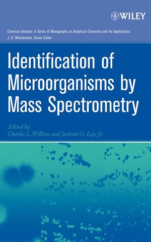 Identification of Microorganisms by Mass Spectrometry (0471654426) cover image