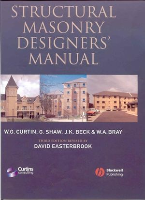 Structural Masonry Designers' Manual, 3rd Edition