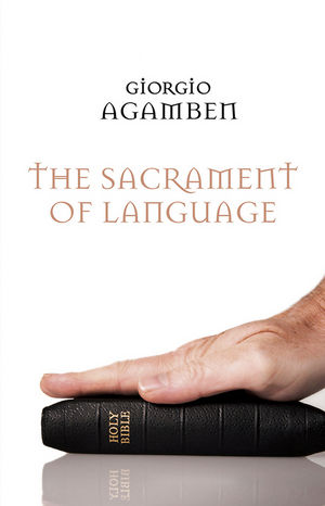 The Sacrament of Language (0745649726) cover image
