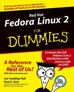 Red HatFedoraLinux2 For Dummies (0764567926) cover image