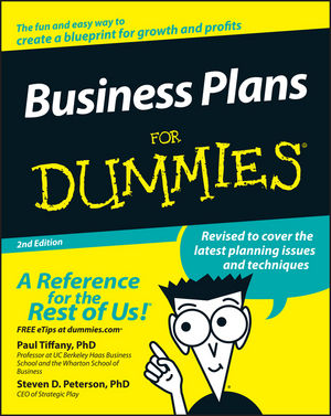 Business Plans For Dummies, 2nd Edition