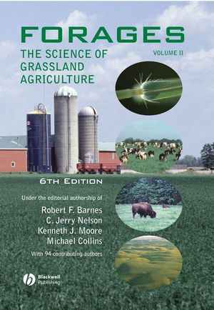 Forages, Volume II, The Science of Grassland Agriculture, 6th Edition (0813802326) cover image