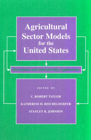 Agricultural Sector Models for the United States: Descriptions and Selected Policy Applications (0813808626) cover image