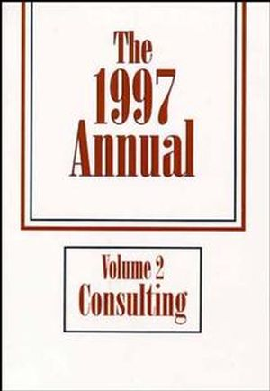 The Annual, Volume 2, 1997 Consulting