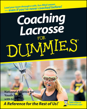 Coaching Lacrosse For Dummies (1118052226) cover image