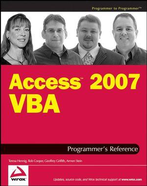 Access 2007 VBA Programmer