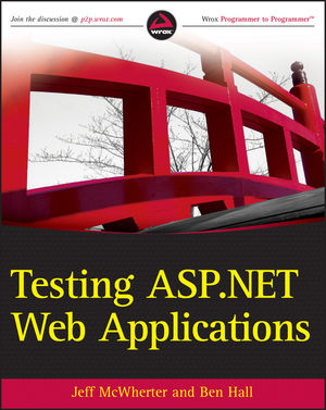 Testing ASP.NET Web Applications (1118081226) cover image