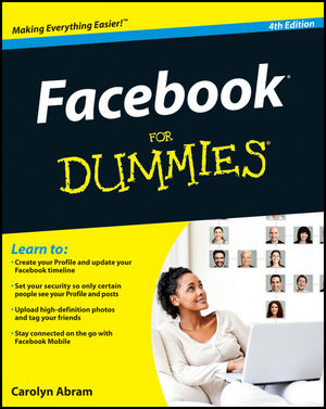 Facebook For Dummies®, 4th Edition (1118095626) cover image