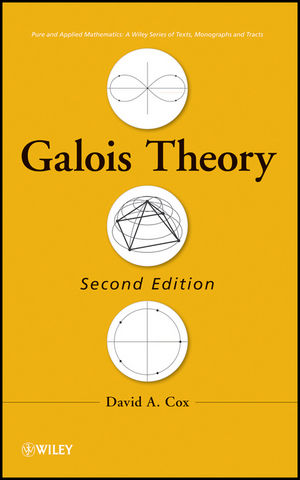 Galois Theory, 2nd Edition (1118218426) cover image