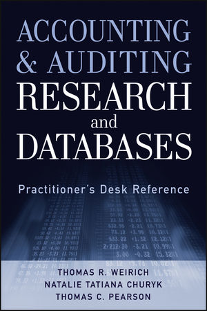 Accounting and Auditing Research and Databases: Practitioner