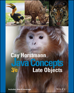Java Concepts: Late Objects, Enhanced eText, 3rd Edition (1119321026) cover image