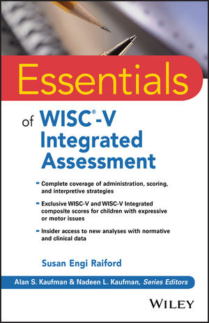 Book Cover Image for Essentials of WISC-V Integrated Assessment
