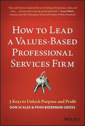 How to Manage a Values-Based Professional Services Firm