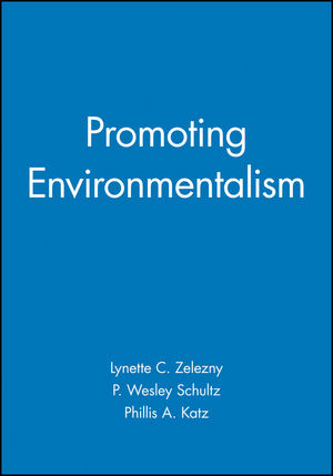 Promoting Environmentalism (1405100826) cover image
