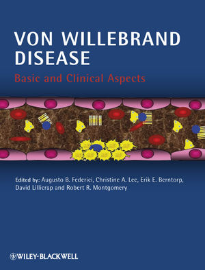 Von Willebrand Disease: Basic and Clinical Aspects (1405195126) cover image