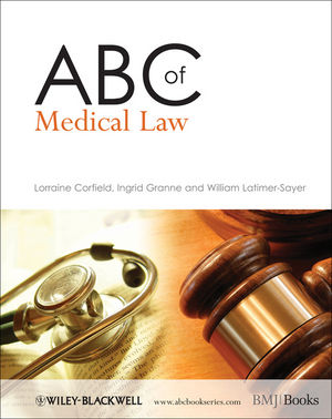 ABC of Medical Law (1444316826) cover image