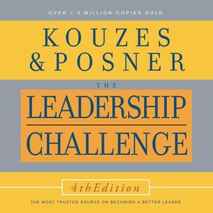 Leadership Challenge Audio CD, 4th Edition (1596591226) cover image
